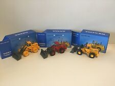 Qty Three Volvo Articulated Dump Trucks 1:50 Scale by scoop models