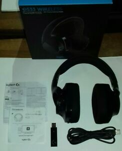 Logitech G533 kabelloses Gaming-Headset 7.1 Surround Sound DTS Headphone 2.4 GHz