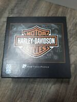 Harley-Davidson Motorcycles 500 Piece Jigsaw Puzzle complete