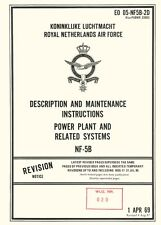 NORTHROP NF-5B / POWERPLANT & SYSTEMS / DESCRIPTION AND MAINTENANCE