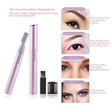 Tinxi Kosmetik-pen-trimmer Gesichtshaare Rasierer Pink