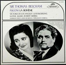 "PUCCINI ""LA BOHEME"" (VICTORIA DE LOS ANGELES/BEECHAM) 3 LP PREMIUM USED LP (NM)"