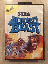 Altered Beast ( Sega Master System  1989 ),Complete w/Case & Manual