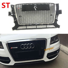 For Audi Q5 SUV 2009-2012 Front Mesh Grille Grill To RSQ5 Style Chrome Frame