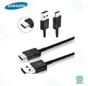 Orginal USB C Ladekabel für Samsung Galaxy S8 + S9 + S10 Plus Note 10 Schwarz