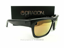 New Dragon Alliance Sunglasses Viceroy Black Gold Ion 720-2048 Authentic