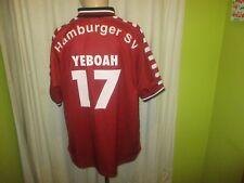 "Hamburger SV Fila UEFA-Pokal Trikot 2000/01 ""TV Spielfilm"" + Nr.17 Yeboah Gr.L"