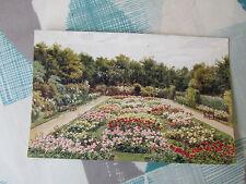 Rose Garden  SCARBOROUGH  Real Photo Coloured  J SALMON  Postcard Posted 1935