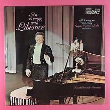 An Evening With Liberace - Contour 2870-350 Ex Condition Vinyl LP