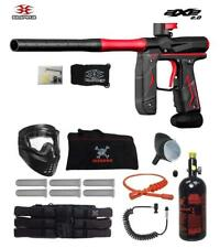 Maddog Empire Axe 2.0 Corporal Hpa Paintball Gun Package Dust Black / Dust Red