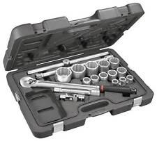 "FACOM KL.501 3/4"" Dr. 18 PIECE BI-HEXAGON 12 POINT METRIC SOCKET SET 19 - 55mm"