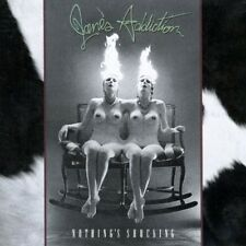JANE'S ADDICTION NOTHING'S SHOCKING VINILE LP COLORATO CLEAR VINYL NUOVO