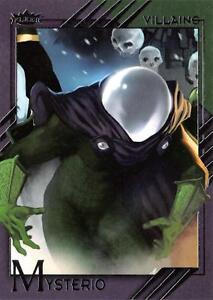 MYSTERIO / 2015 Marvel Fleer Retro (Upper Deck) BASE Trading Card #42