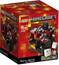 LEGO 21106 MINECRAFT MICRO BUILD: THE NETHER  *NEW&SEALED, GREAT GIFT!