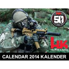 2014 HECKLER KOCH HK 50th Anniversary COLLECTORS CALENDAR MP5 VP9 P7 USP HK45