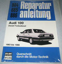 Reparaturanleitung Audi 100 Typ 44 C3 Diesel / Turbodiesel TD, ab Baujahr 1983