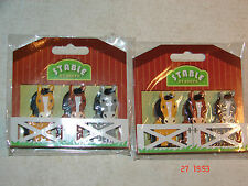 HORSE NOVELTY ERASER/RUBBERS X 2 - STABLE HORSE