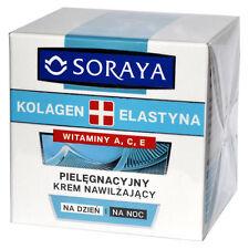 SORAYA krem nawilżający KOLAGEN ELASTYNA vit.A C E moisturizing cream collagen
