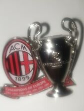 Pin Champion of Europe AC MILAN