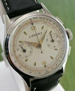 Vintage Lamont Croton Chronograph Men watch Swiss Made C 2112