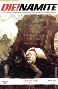 Die!namite #1 Zombie Variant Cover B   NM-   Dynamite Entertainment 2020