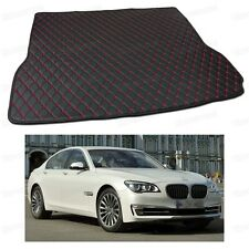 Anti Scrape Leather Car Trunk Mat Carpet Fit for BMW 7-Series 2007-2015