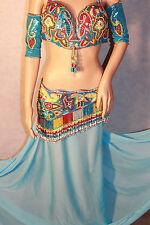 belly dance costume belts professiobal bellydance costume NEW Bra size D sale