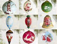 2016 Li Bien Glass Christmas Ornament Unique Ornaments Hand Paint