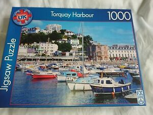 Torquay Harbour 1000 Piece Deluxe Quality Jigsaw Puzzle FX Schmid