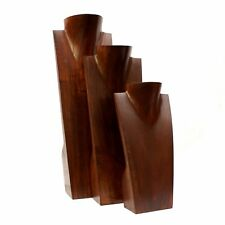 Necklace Display Jewellery Stand Wood Brown Classy Shop Retail *Gift Idea*
