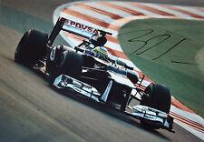 Bruno Senna SIGNED 12x8 ,F1 Williams-Renault FW34 , Spanish GP Barcelona  2012