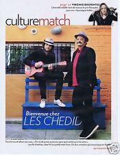 Coupure de presse Clipping 2010 Louis & Matthieu Chedid  (3 pages)
