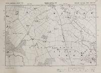 West Yorkshire Map - Ordnance Survey Emergency Edition 1938 - Selby, Wiston