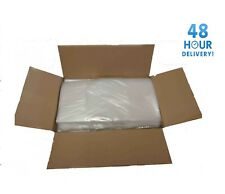 More details for extra strong 200 gauge clear rubbish bin bags refuse sacks virgin mate waste