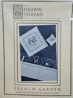 The Drawn Thread French Garden Cross Stitch Kit With All Threads Charm Beads