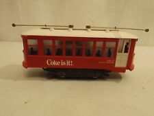 O Bowser Coke Birney trolley car in original box