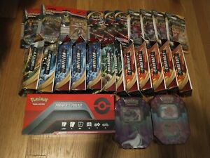 POKEMON SEALED BOX LOT (15) TRAINERS TOOLKIT +SIRFETCH'D THEME + 15 BOOSTER PACK