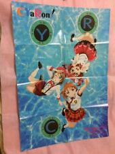 LoveLive Sunshine CYaRon CHIKA YOU RUBY Big Poster Promo Official Japan FS
