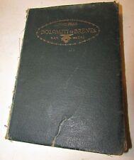 Dolomiti di brenta-prati-tridentum-1926-CAI-SAT-TRENTO-ALPI TRIDENTINE-