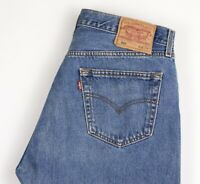 LEVI'S STRAUSS & CO Men 501 Straight Leg Jeans Size W36 L30 ARZ1544