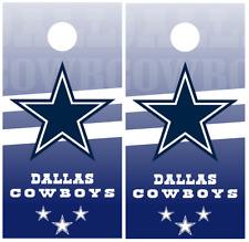 Dallas Cowboys Cornhole Board Wraps Skins Vinyl Laminated HIGH QUALITY!