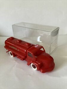 Vintage 60s Cle AVIA  Petrol Tanker 1:43 Plastic  Made In France