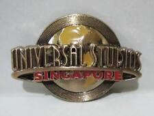 ▓ Universal studios singapore logo rose gold metal fridge ref magnet