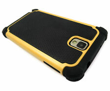 Samsung Galaxy Note 4 Yellow Defender Heavy Duty Shock-Proof Phone Case Cover