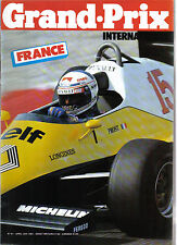 Grand Prix International France GP 20/4/83 No. 61 Jacques Laffite Brabham BT 52