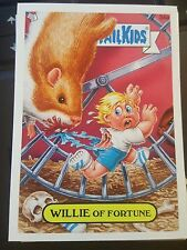 Garbage Pail Kids 2007 All-New Series ANS 7 #34a Willie of Fortune NrMint-Mint