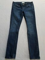 Aeropostale Jeans Junior's Blue Wash Size 1/2 Bayla Skinny Great Condition