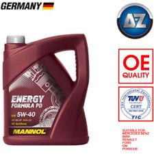 Aceites de motor 5W40 para vehículos Audi