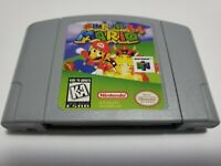 Super Mario 64 Game Cartridge Nintendo 64 Reproduction US Seller Free Shipping