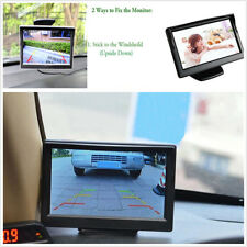 5 Inch Color TFT LCD Monitor Car Parking Rear View Monitor Screen Video Display